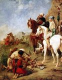 The sport of falconry was introduced to Algeria and the Maghreb by the Arabs over 1,000 years ago and was a favorite pastime of royalty and nobility. During the period of Arab expansion into North Africa, cavalry was often mounted on small, agile horses called 'Berbers', or 'Barbs'.