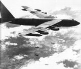Operation Linebacker II was a US Seventh Air Force and US Navy Task Force 77 aerial bombing campaign, conducted against targets in the Democratic Republic of Vietnam (North Vietnam) during the final period of US involvement in the Vietnam War. <br/><br/>  The operation was conducted from 18–29 December 1972, leading to several informal names such as 'The December Raids' and 'The Christmas Bombings'. It saw the largest heavy bomber strikes launched by the US Air Force since the end of World War II.<br/><br/>  Linebacker II was a resumption of the Operation Linebacker bombings conducted from May to October, with the emphasis of the new campaign shifted to attacks by B-52 Stratofortress bombers rather than tactical fighter aircraft. 1,600 civilians died in Hanoi and Haiphong in the raids.<br/><br/>  During operation Linebacker II a total of 741 B-52 sorties were dispatched to bomb North Vietnam. 15,237 tons of ordnance were dropped on 18 industrial and 14 military targets (including eight SAM sites) while fighter-bombers added another 5,000 tons of bombs to the tally. The US admitted to ten B-52s  shot down over the North and five others damaged and crashed in Laos or Thailand. North Vietnamese air defense forces claim that 34 B-52s and four F-111s were shot down during the campaign.